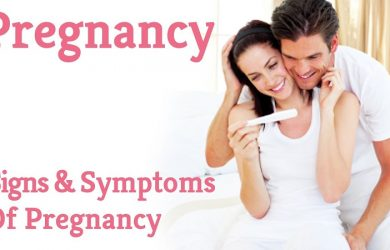 Symptoms And Signs Of Pregnancy